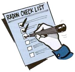 Radon-Check-list
