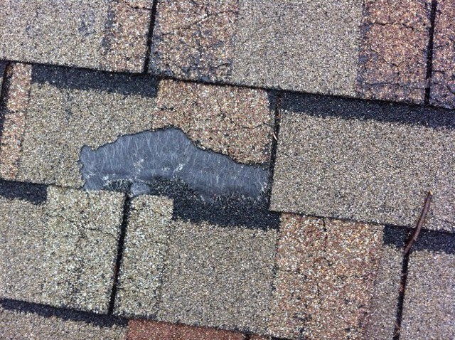 shingle damaged